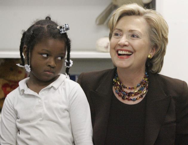 Theronee Foster, Sen Hillary Rodham Clinton