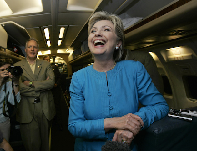 Hillary Clinton Takes Private Jet To Give Speech On Social