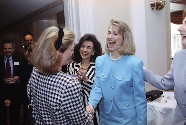 Hillary Rodham Clinton, Donna Galotti