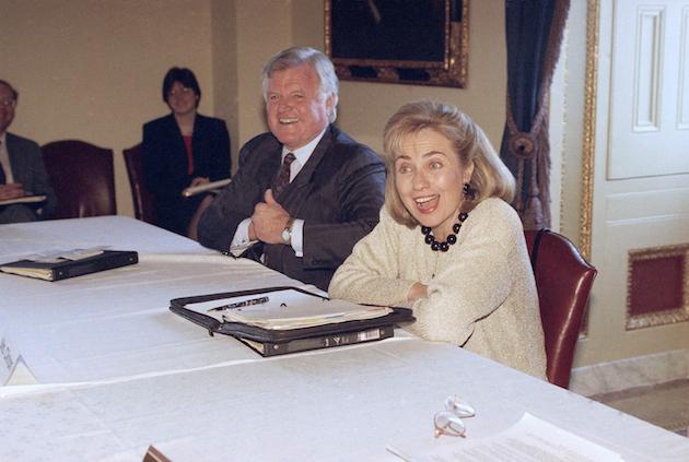 Hillary Rodham Clinton, Edward Kennedy