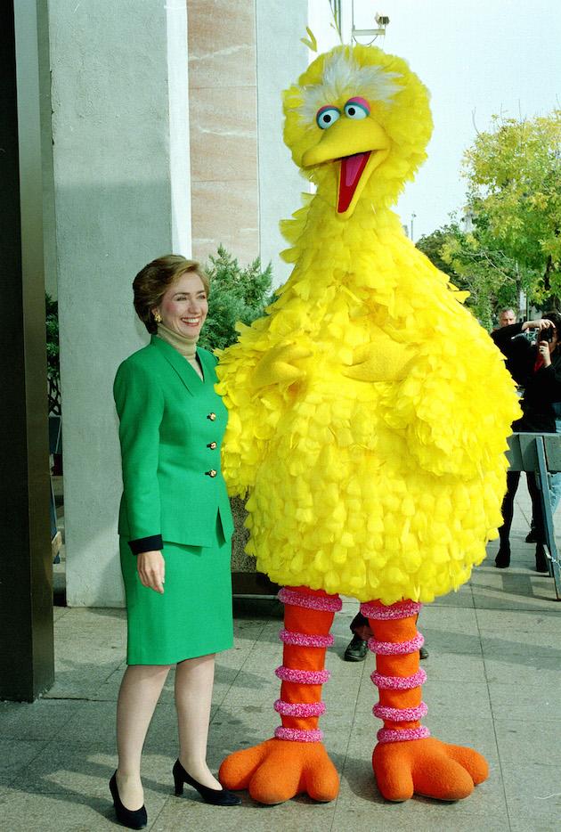 Clinton Big Bird