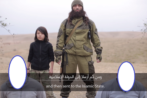 Islamic State Releases Video of Child Executing Alleged