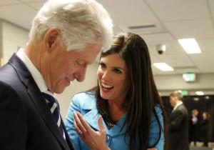 Bill Clinton, Kathleen Kane