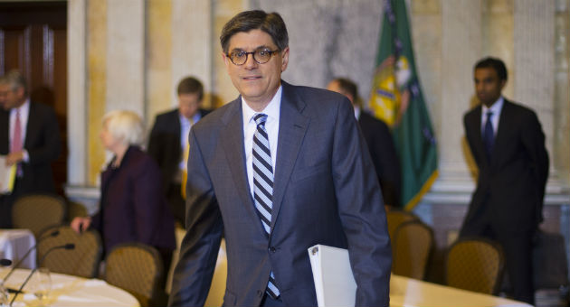Secretary of the Treasury Jack Lew / AP