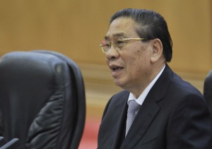 Laos President Choummaly Sayasone