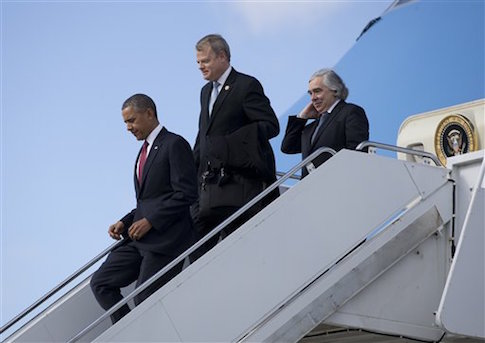 Barack Obama, Ernest Moniz, Mike McIntyre