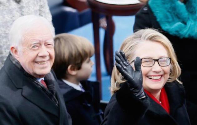 jimmy-carter-hillary-clinton-bill-clinton-inauguration-day