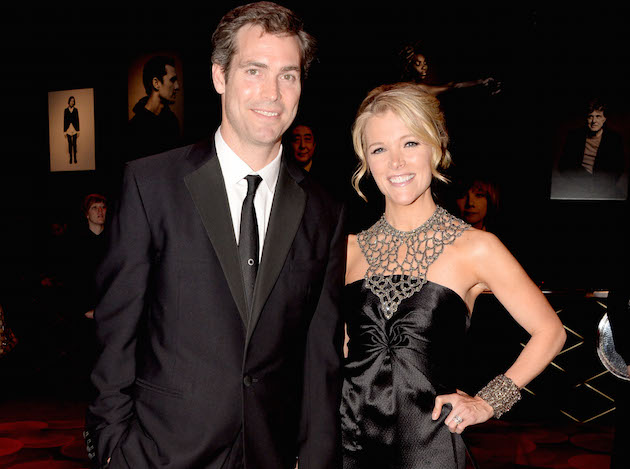 Megyn Kelly with husband Doug Brunt at the TIME 100 Gala / AP