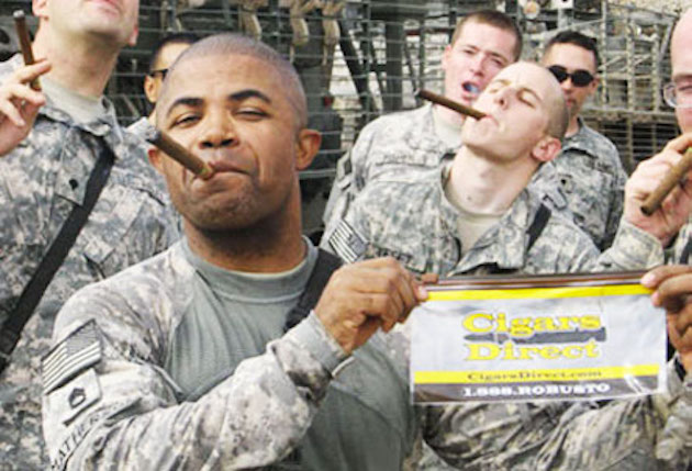 troops cigars