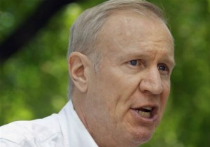 Gov. Bruce Rauner of Illinois