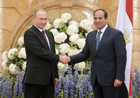 Vladimir Putin, Abdel-Fattah el-Sissi