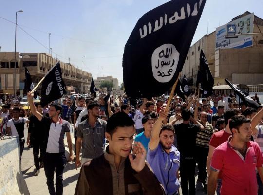 Islamic State demonstrators