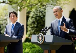 Shinzo Abe, Barack Obama / AP