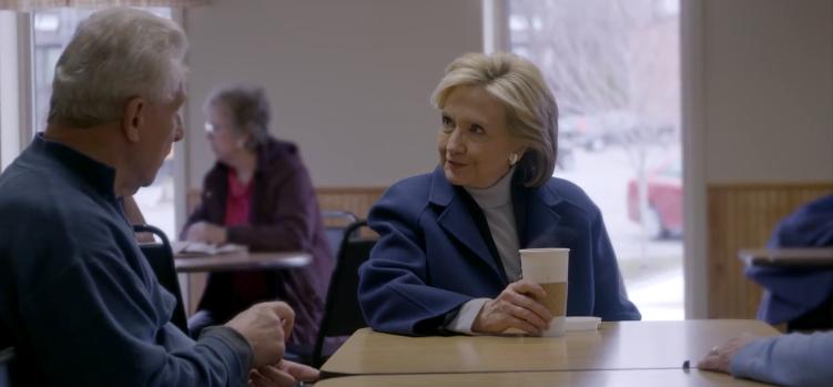 Hillary Eye Contact