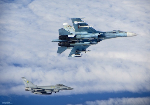 Su-27 intercept / European Leadership Network