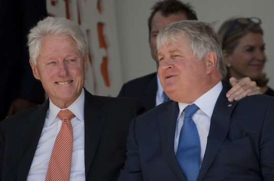 Oh, Denny Boy: How The Clintons Helped an Irish Telecom Tycoon Makes