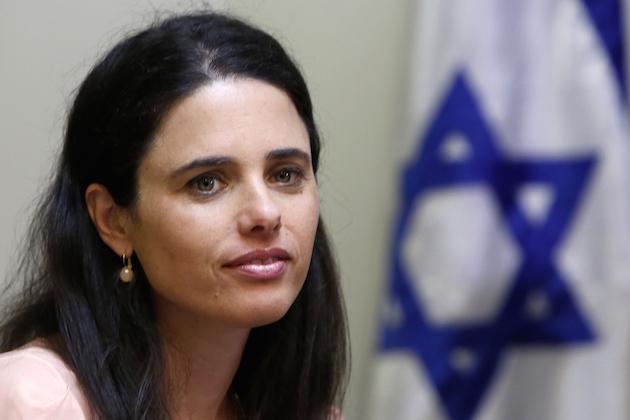 Ayelet Shaked / GALI TIBBON/AFP/Getty Images