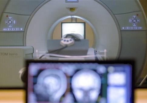 Brain-scanning MRI machine