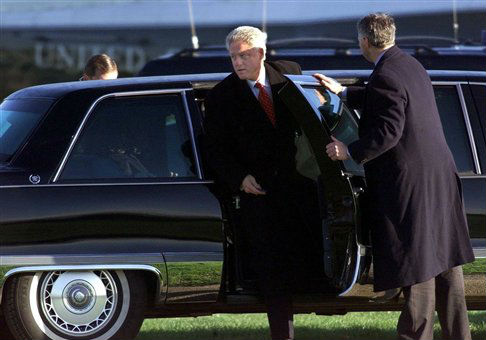 Bill Clinton's Limo Service to Hermès Cost Taxpayers ...