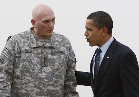 Gen. Ray Odierno and President Obama