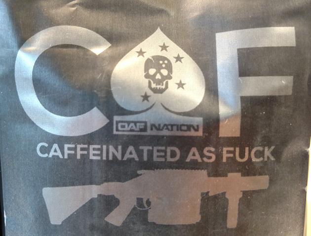 Caffeinated as Fuck / Stephen Gutowski