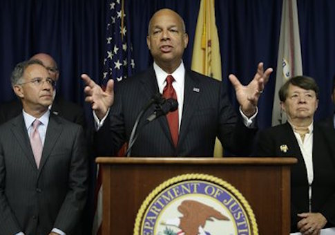 Secretary of Homeland Security Jeh Johnson Tuesday