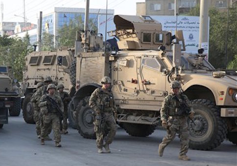soldiers in kabul afghanistan