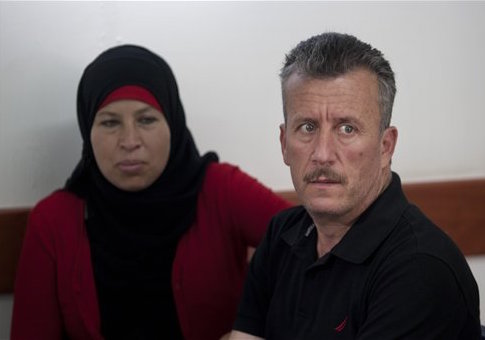 Bassem Tamimi and his wife