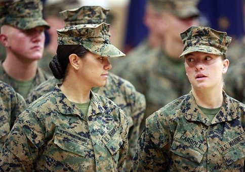 Female Marines in 2013
