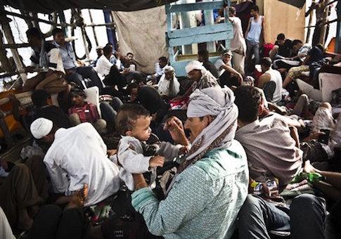Djibouti: Yemeni refugees