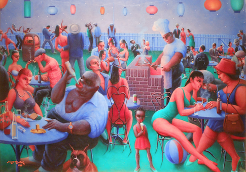 'Barbecue' by Archibald Motley