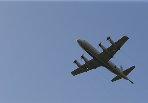 U.S. Navy airplane in Turkey