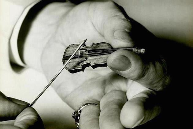 Image result for World's smallest violin