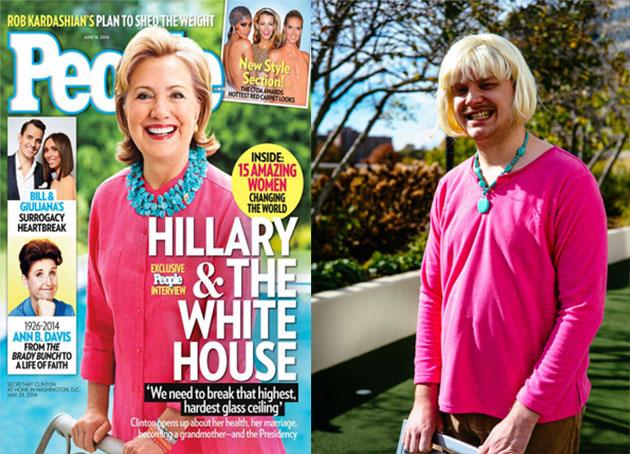 hillarypeopoe  sc 1 st  Free Beacon & Hillary Clinton Costume Suggestions for Halloween - Washington Free ...