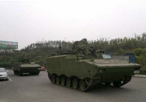 Armored personnel carrier dispatched to capture defector Wang Lijun