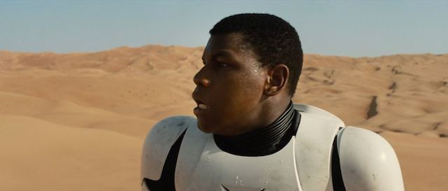 there is no black stormtrooper controversy