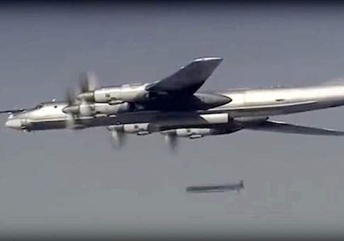 Russian Tu-95 bomber