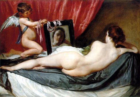 "Diego Velasquez ""Venus at Her Mirror"" / Wikimedia Commons"