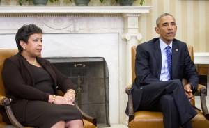 Attorney General Loretta Lynch and President Barack Obama