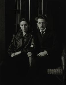 Clergyman and Wife, circa 1929