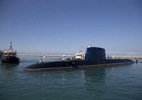 Mideast Israel Submarine