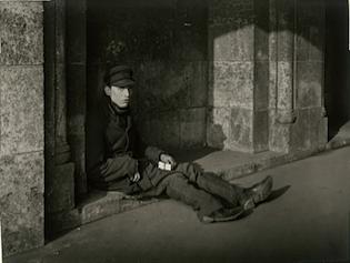 Match-seller, circa 1927