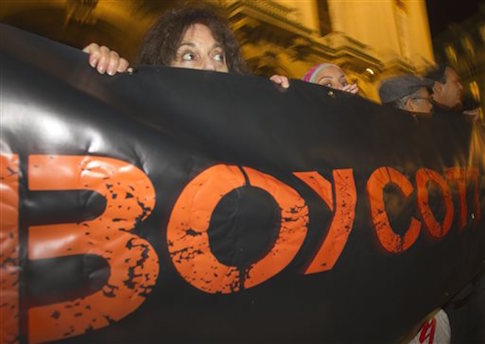 Mideast Israel Boycott Scare