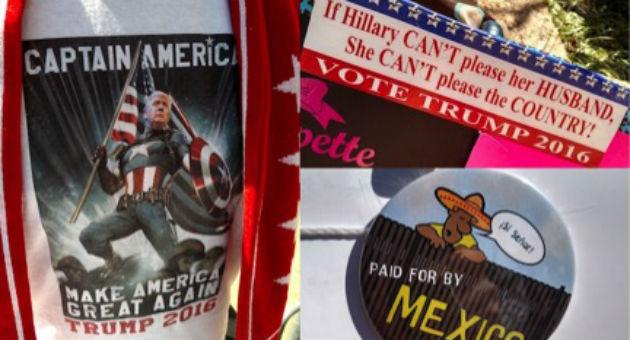 Donald Trump merchandise / Brent Scher