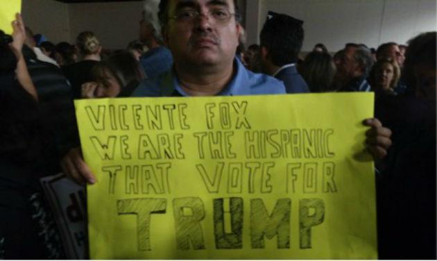 A Trump supporter / Brent Scher