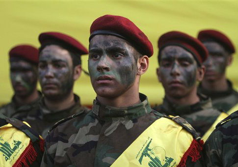 Hezbollah fighters in Lebanon / AP