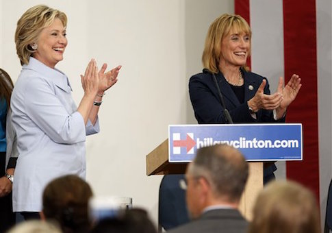 Hillary Clinton, Maggie Hassan