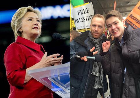Hillary Clinton Max Blumenthal