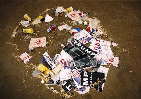 Trump trash