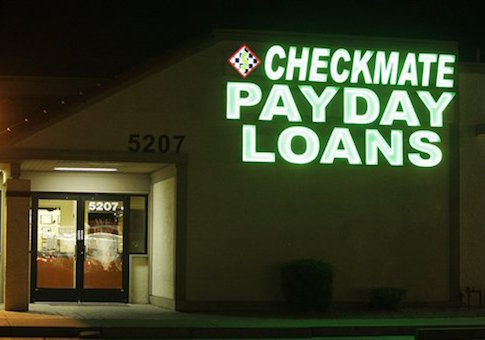 Payday Loans Backlash